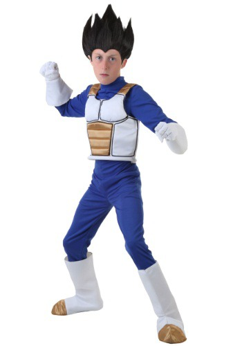 Click Here to buy Dragon Ball Z Kids Vegeta Costume from HalloweenCostumes, CDN Funds & Shipping