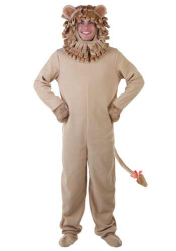 Click Here to buy Adult Lion Costume from HalloweenCostumes, CDN Funds & Shipping