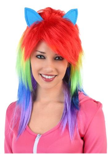 Rainbow Pony Wig