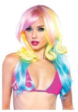 Carousel Pastel Rainbow Wig