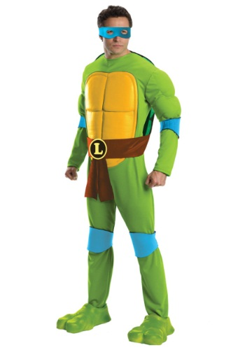 Click Here to buy Deluxe Adult Leonardo Costume from HalloweenCostumes, CDN Funds & Shipping