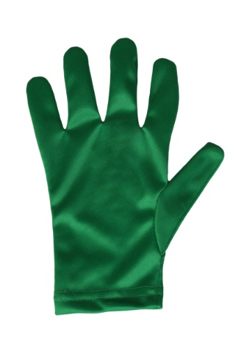 Click Here to buy Green Kids Costume Gloves from HalloweenCostumes, CDN Funds & Shipping