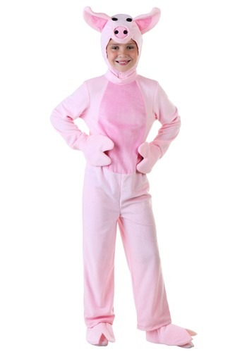 Click Here to buy Kids Pig Costume | Farm Animal Halloween Costume from HalloweenCostumes, CDN Funds & Shipping