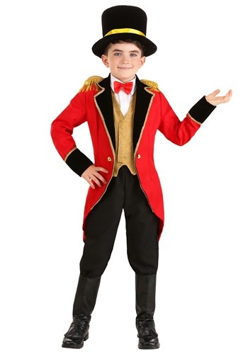 Click Here to buy Ringmaster Kids Costume from HalloweenCostumes, CDN Funds & Shipping