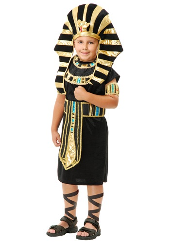 Click Here to buy Kids King Tut Costume from HalloweenCostumes, CDN Funds & Shipping