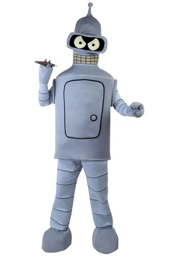 Click Here to buy Adult Bender Costume | Futurama Costume from HalloweenCostumes, CDN Funds & Shipping