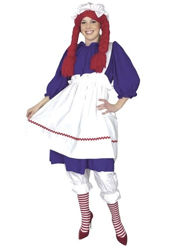 Plus Size Rag Doll Costume