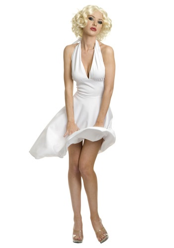Plus Size Marilyn Halter Dress Costume - Plus Size Marilyn Monroe Costume