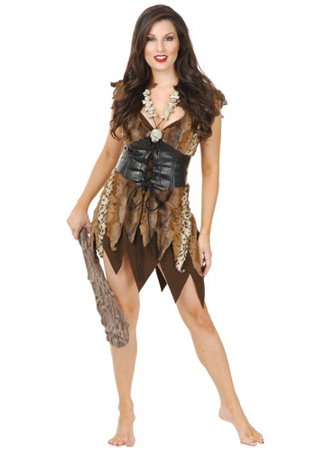 Click Here to buy Sexy Cave Woman Costume from HalloweenCostumes, CDN Funds & Shipping