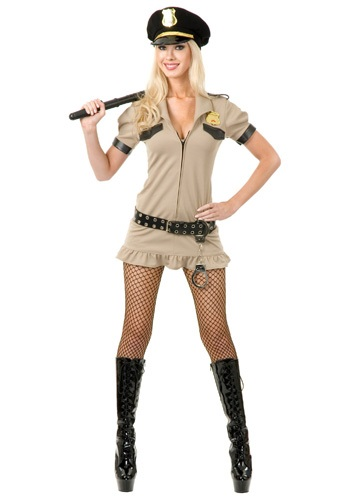 Click Here to buy Sexy California Sheriff Costume from HalloweenCostumes, CDN Funds & Shipping