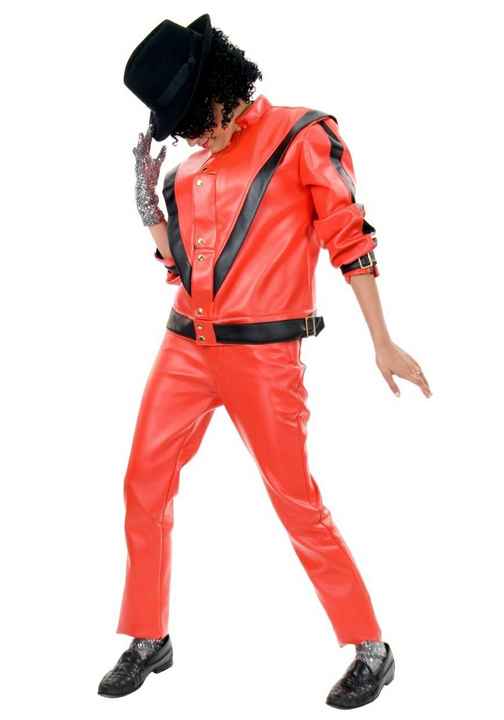 ed463f4c Adult Michael Jackson Thriller Jacket Costume