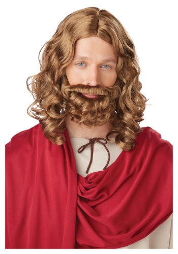 Click Here to buy Adult Jesus Wig and Beard from HalloweenCostumes, CDN Funds & Shipping