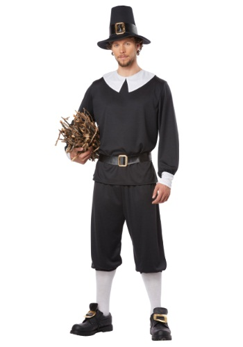 Click Here to buy Pilgrim Man Costume from HalloweenCostumes, CDN Funds & Shipping