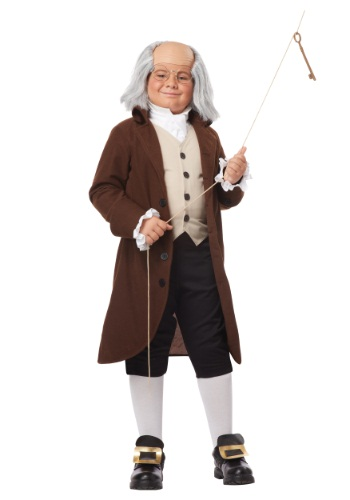 Boys Benjamin Franklin Costume | Historical Figure Costume