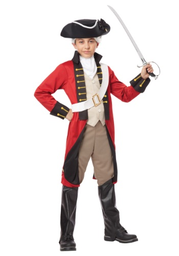 Click Here to buy Boys British Redcoat Costume from HalloweenCostumes, CDN Funds & Shipping