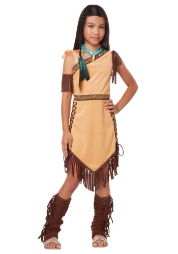 Click Here to buy Girls Native American Princess Costume from HalloweenCostumes, CDN Funds & Shipping