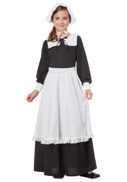 Pilgrim Girl Costume