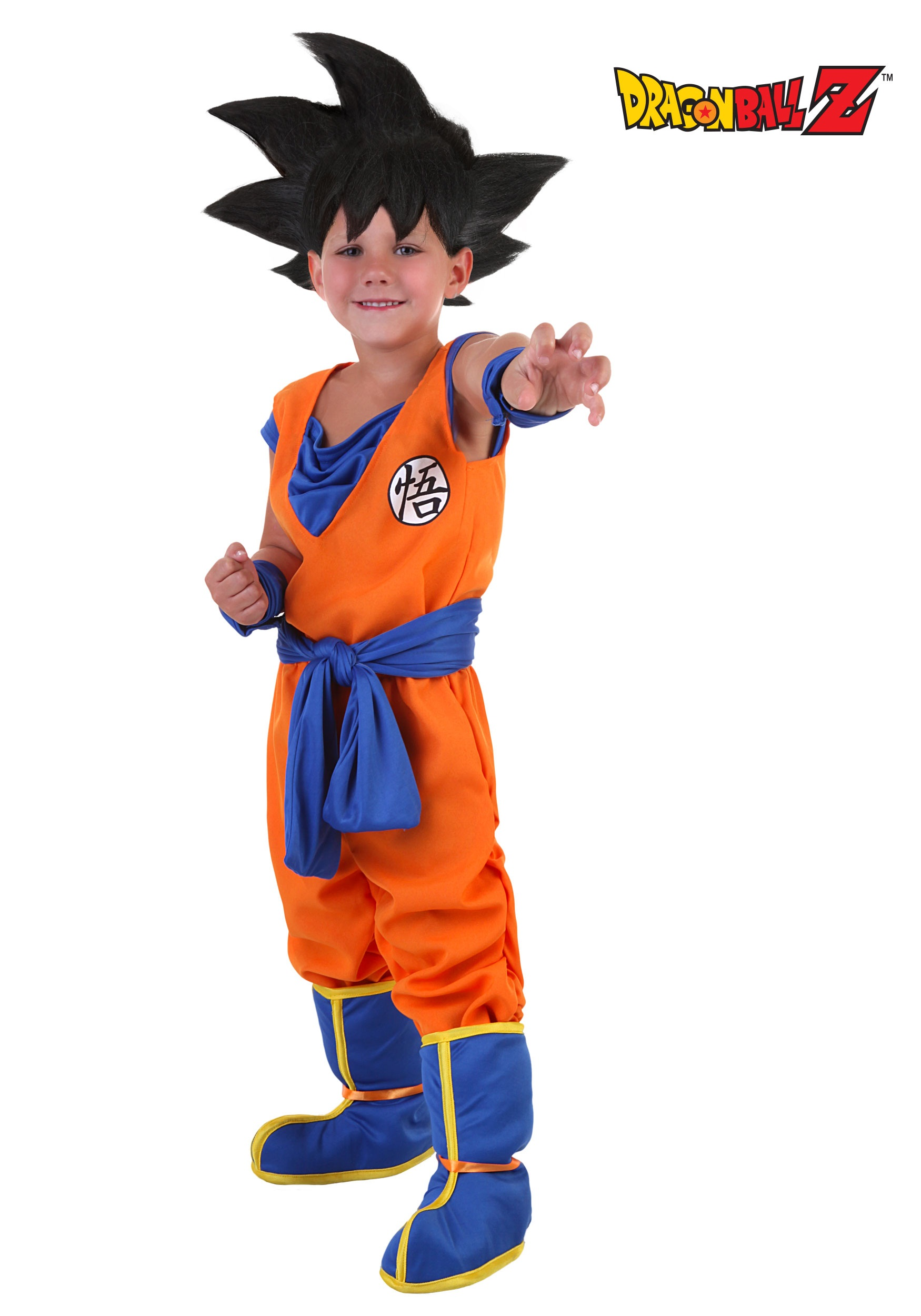 sc 1 st  Halloween Costumes CA & Toddler Goku Costume