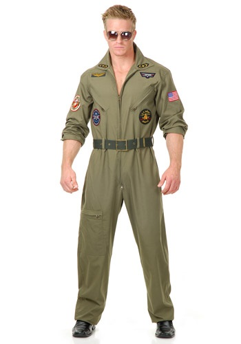 Click Here to buy Plus Size Air Force Pilot Costume from HalloweenCostumes, CDN Funds & Shipping