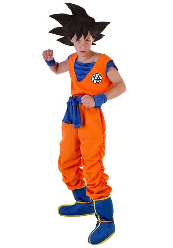 Click Here to buy Goku Kids Costume | Anime Cosplay | Goku Cosplay from HalloweenCostumes, CDN Funds & Shipping