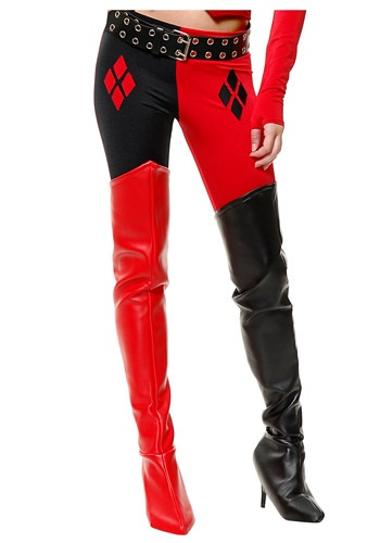 Harlequin Joker Boot Covers