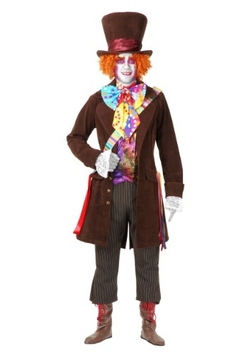 Mens Deluxe Mad Hatter Costume