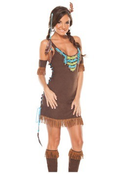 Temptress Indian Costume