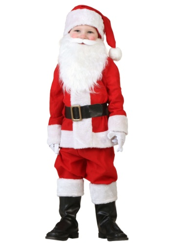 Click Here to buy Toddler Santa Costume from HalloweenCostumes, CDN Funds & Shipping