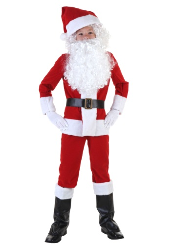 Click Here to buy Kids Santa Costume from HalloweenCostumes, CDN Funds & Shipping