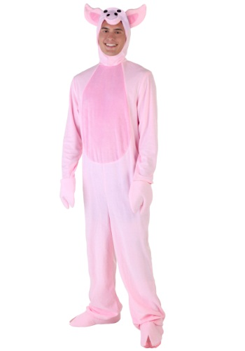 Click Here to buy Plus Size Pig Costume from HalloweenCostumes, CDN Funds & Shipping