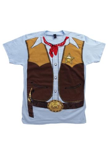 Mens Cowboy Costume T-Shirt