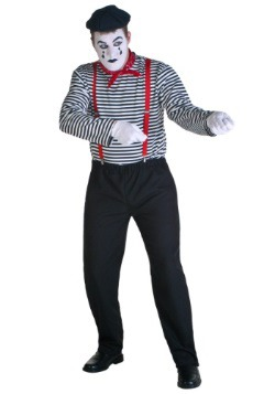 Plus Size Mime Costume