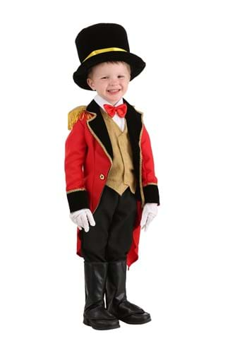 Click Here to buy Toddler Ringmaster Costume from HalloweenCostumes, CDN Funds & Shipping