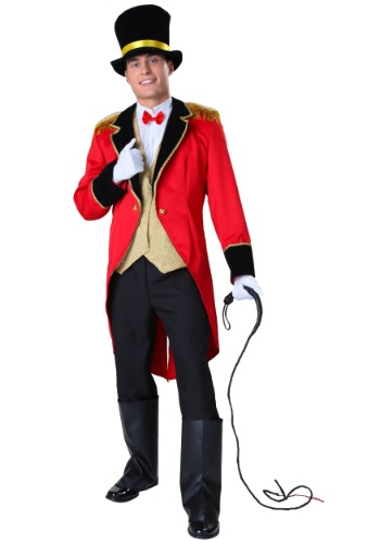 Click Here to buy Plus Size Ringmaster Costume from HalloweenCostumes, CDN Funds & Shipping