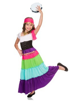 Child Renaissance Gypsy Costume