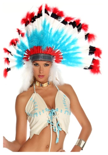 Click Here to buy Native American Headdress from HalloweenCostumes, CDN Funds & Shipping