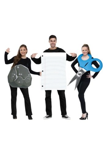 Rock, Paper, Scissors Adult Size Costume
