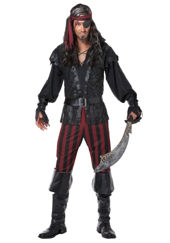 Click Here to buy Mens Ruthless Rogue Pirate Costume from HalloweenCostumes, CDN Funds & Shipping