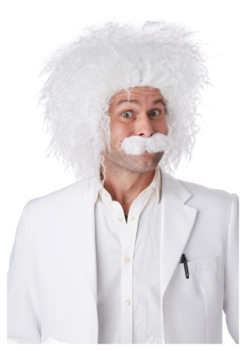 Click Here to buy E=MC2 Wig & Mustache from HalloweenCostumes, CDN Funds & Shipping
