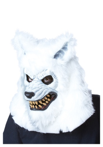 Click Here to buy White Werewolf Ani-Motion Mask from HalloweenCostumes, CDN Funds