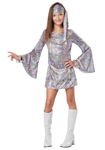 Click Here to buy Disco Darling Girls Costume from HalloweenCostumes, CDN Funds & Shipping