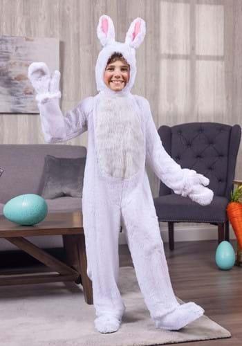 Kids White Bunny Costume