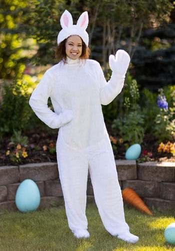 Click Here to buy Adult White Bunny Costume from HalloweenCostumes, CDN Funds & Shipping