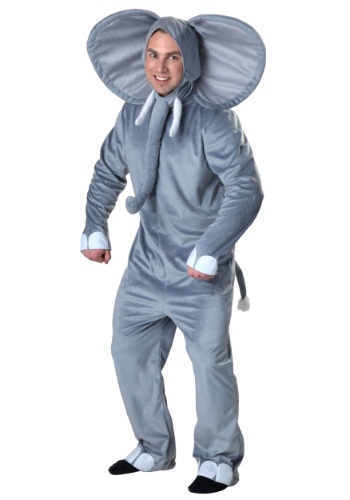 Plus Size Happy Elephant Costume