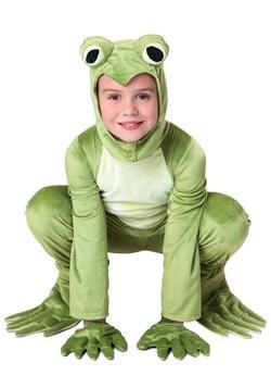 Kid's Deluxe Frog Costume