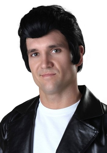 Click Here to buy Adult Grease Danny Wig from HalloweenCostumes, CDN Funds & Shipping
