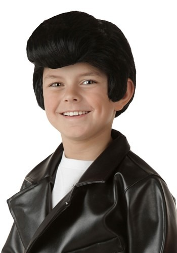 Click Here to buy Kids Grease Danny Wig from HalloweenCostumes, CDN Funds & Shipping