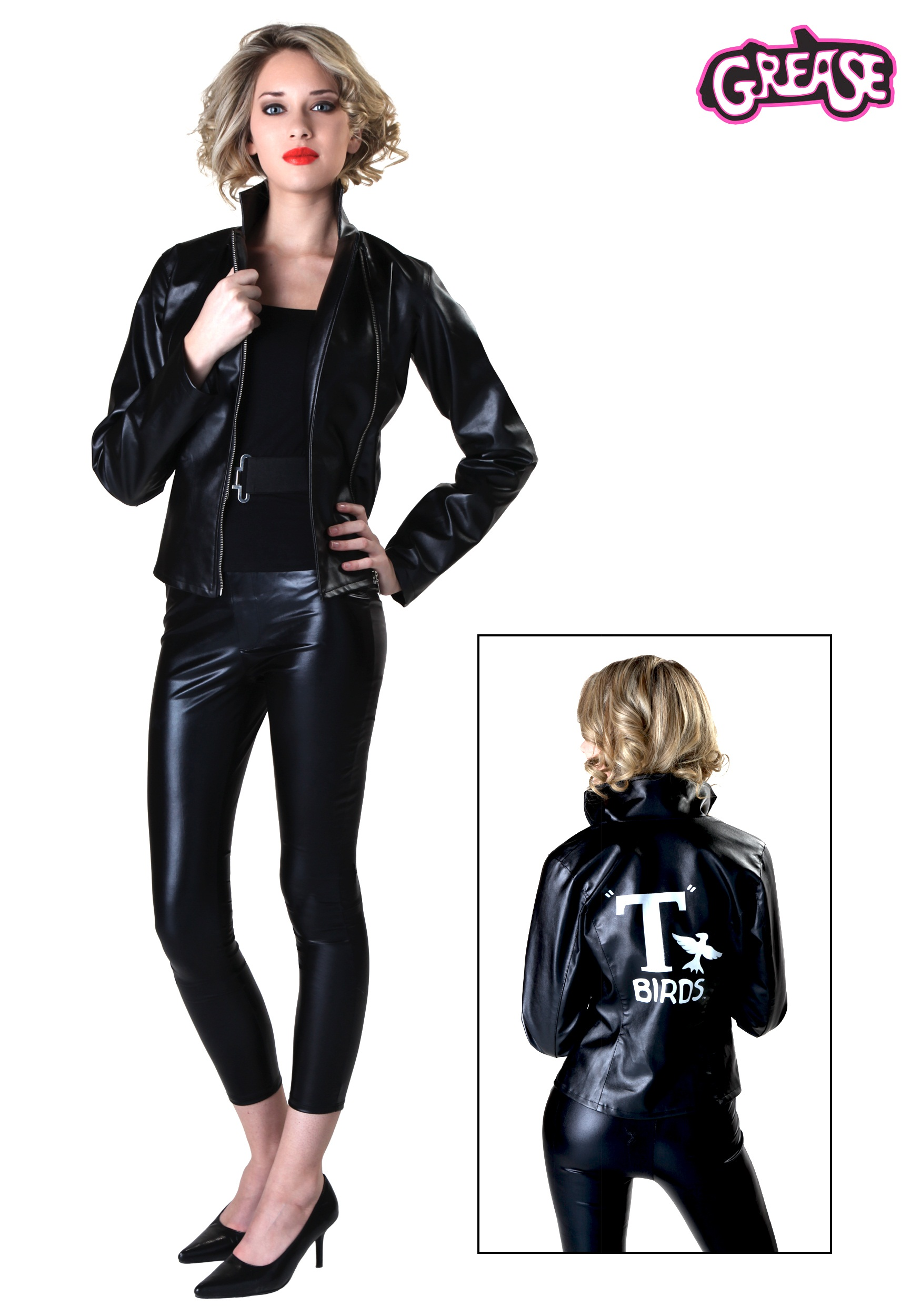 Womens Grease T-Birds Jacket  sc 1 st  Halloween Costumes CA & Womenu0027s Grease T-Birds Jacket