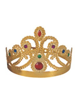 Gold Queen's Tiara