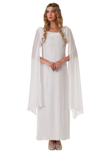 Click Here to buy The Hobbit Adult Galadriel Costume from HalloweenCostumes, CDN Funds & Shipping